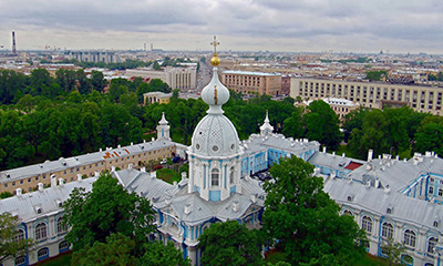 Smolny Cathedral bell tower